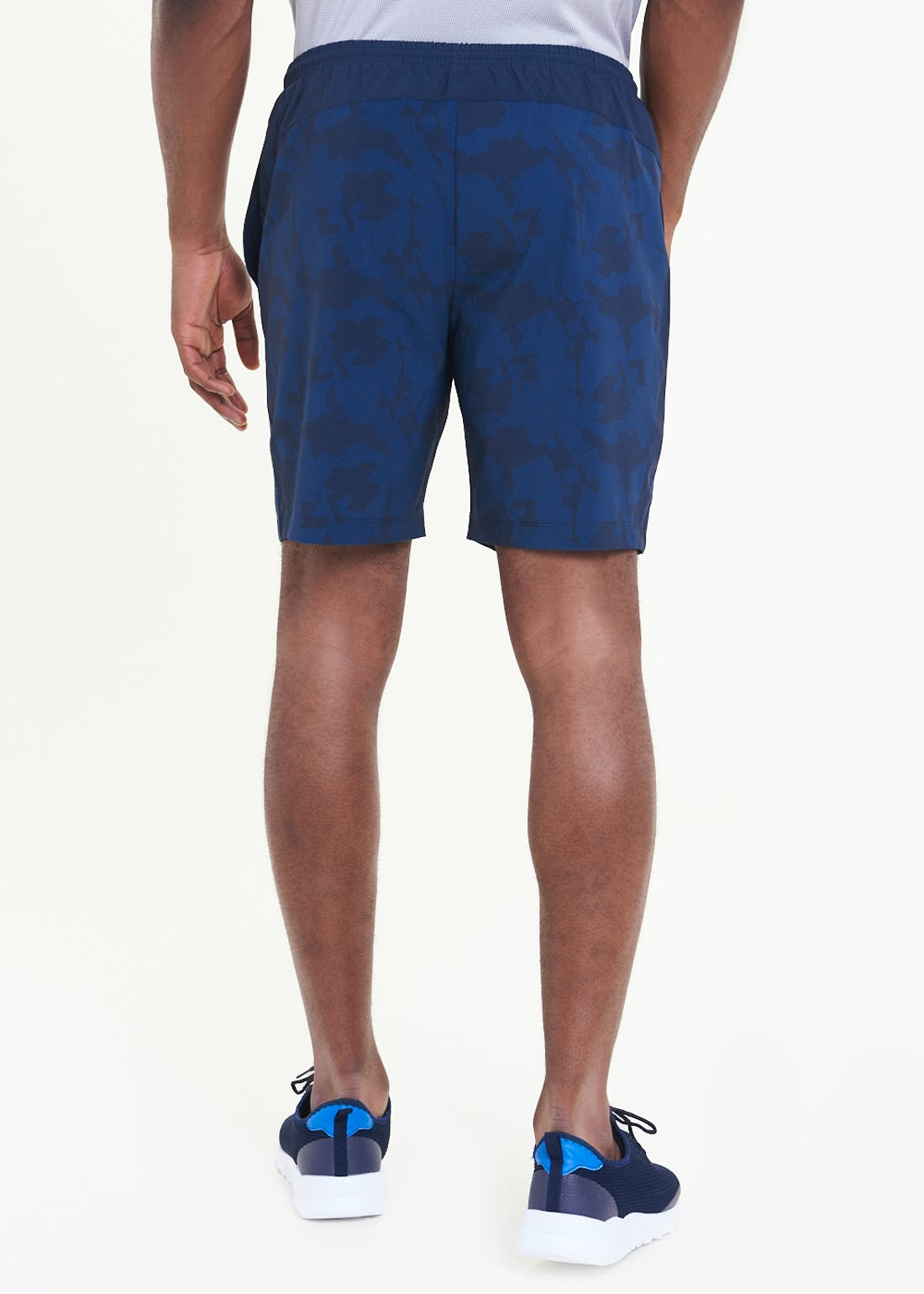 Souluxe Navy Gym Shorts