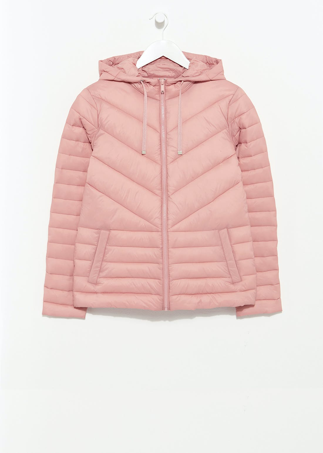 Pink Short Padded Coat