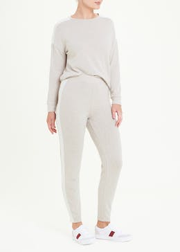 Soft Touch Stripe Joggers