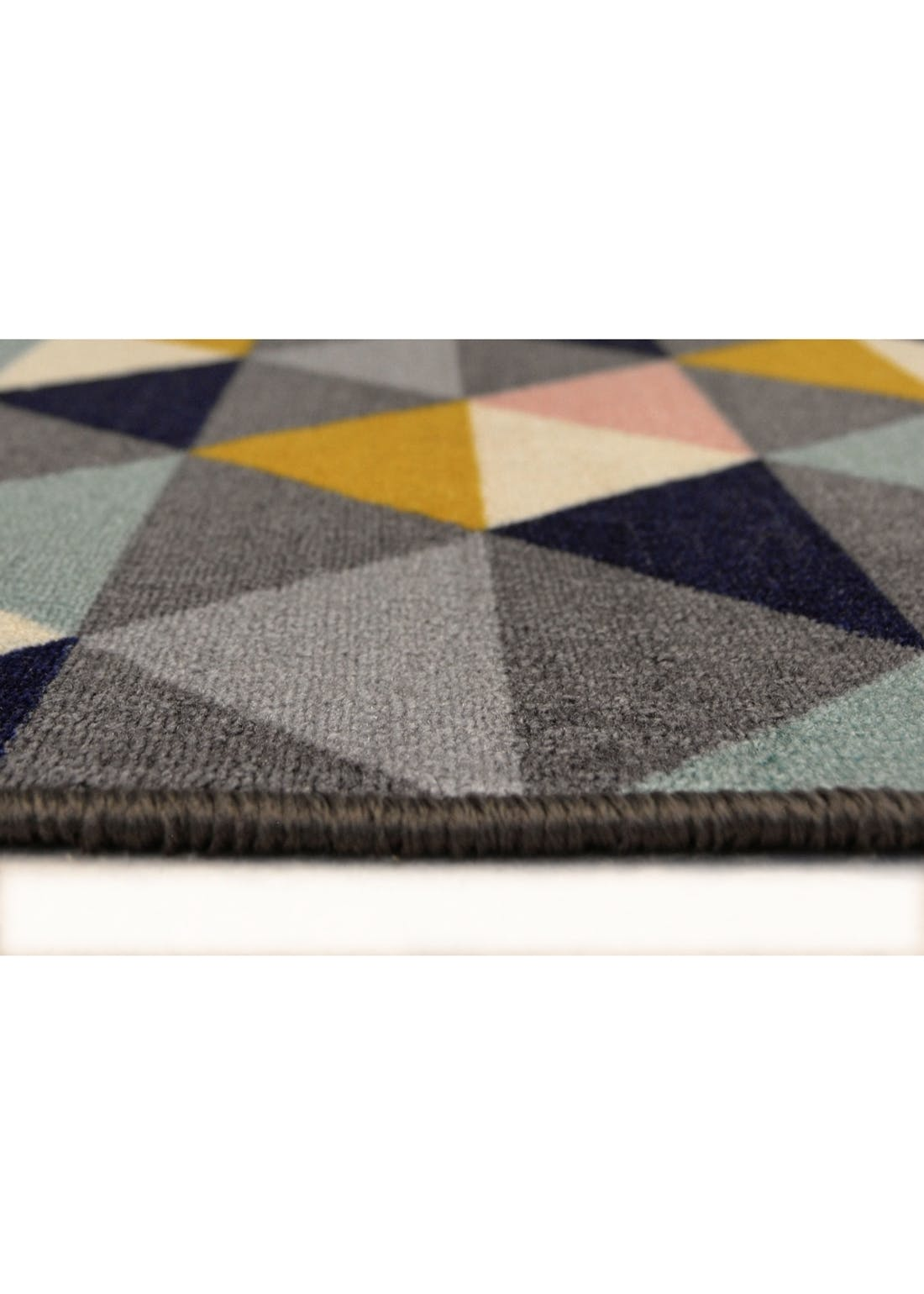 Homemaker Triangle Print Runner & Mat Set