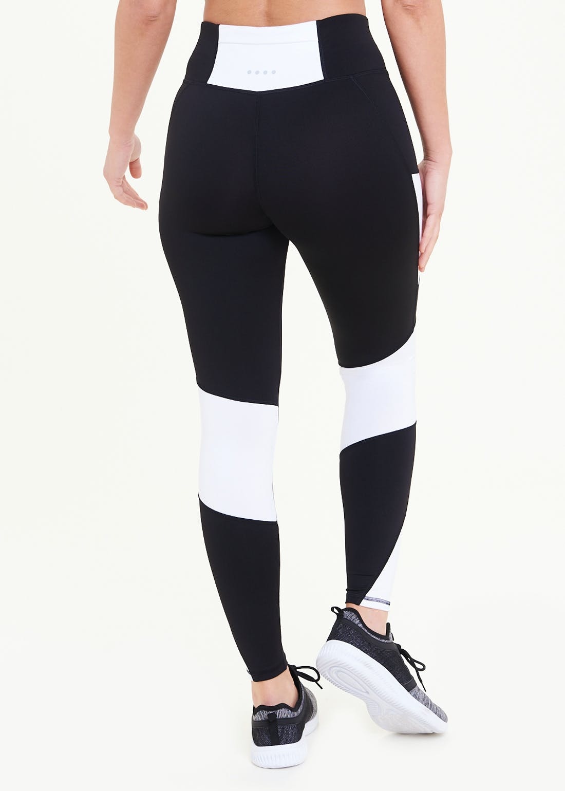 Souluxe Black & White Gym Leggings