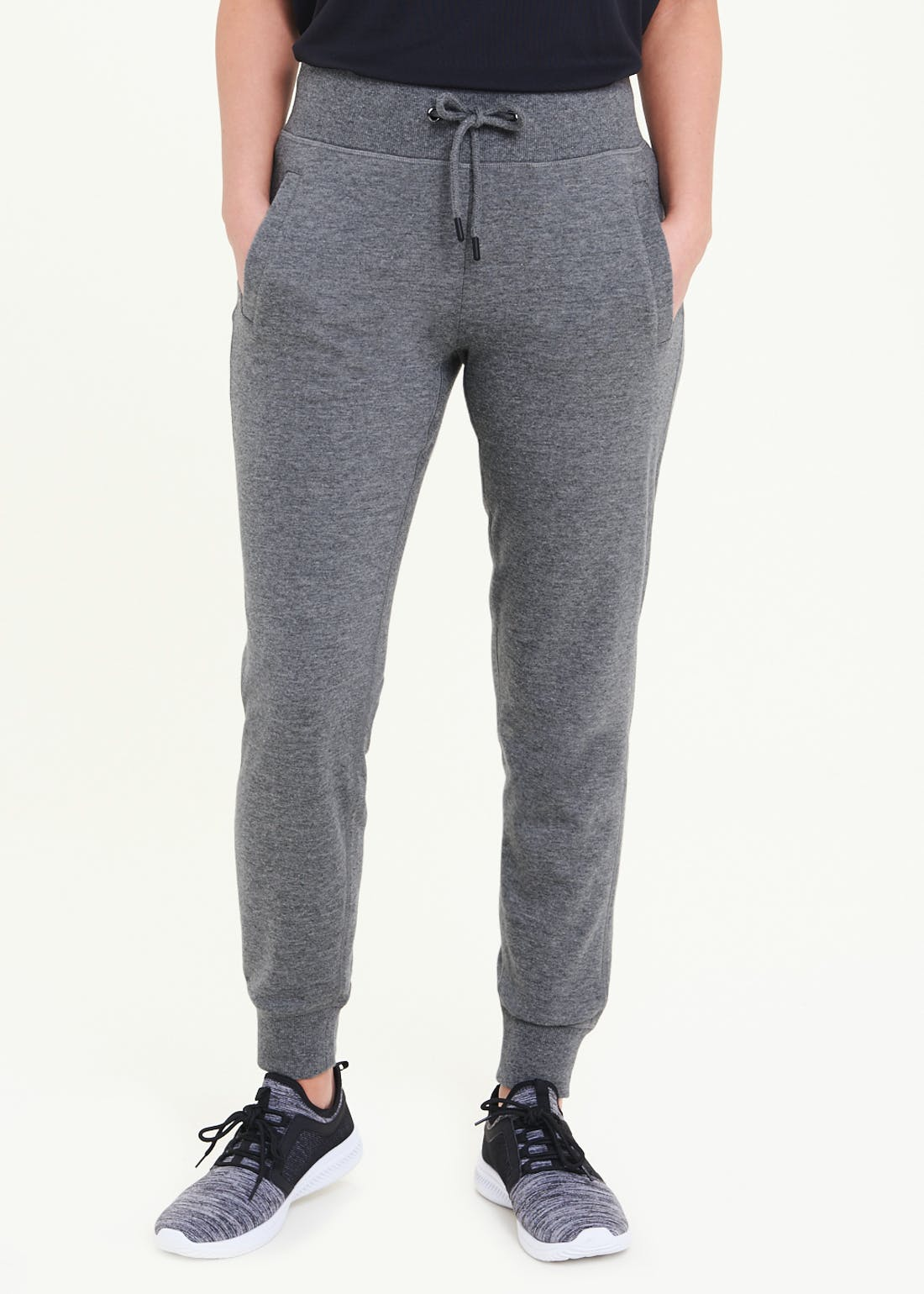 Souluxe Grey Tapered Joggers