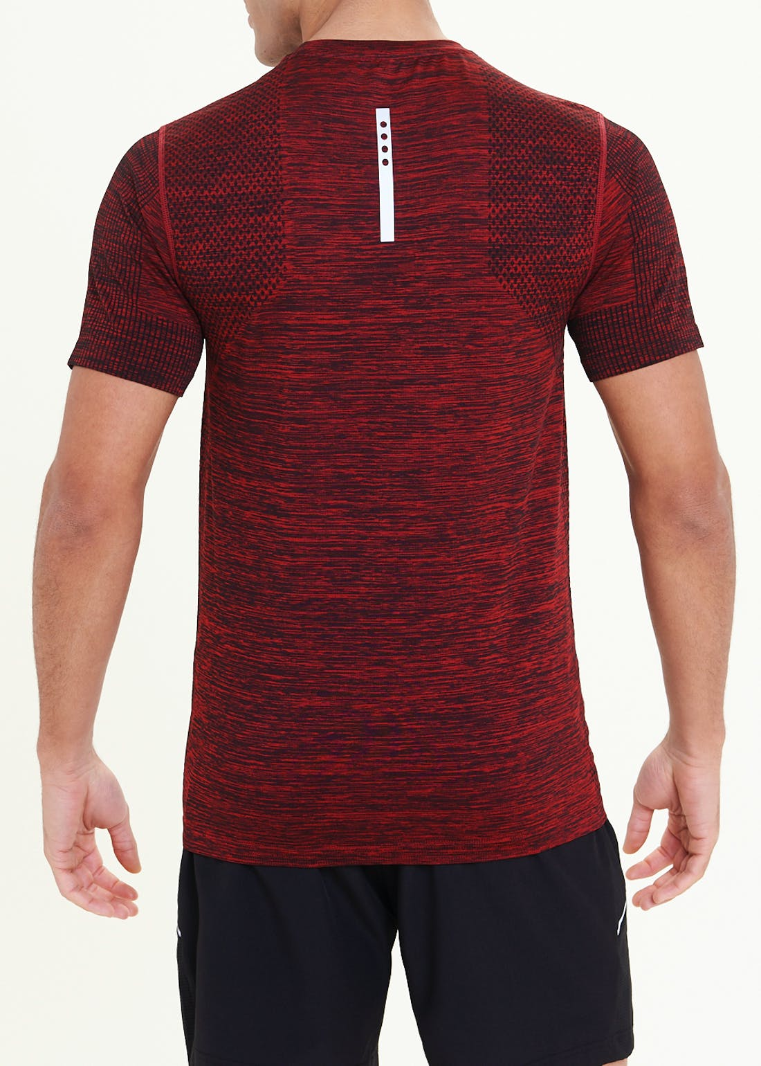 Souluxe Red Seamless Gym T-Shirt