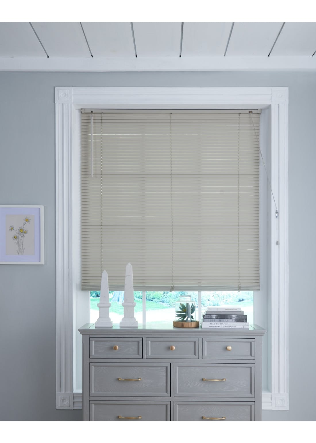 Homemaker Grey Wooden Venetian Blind 25mm Slats