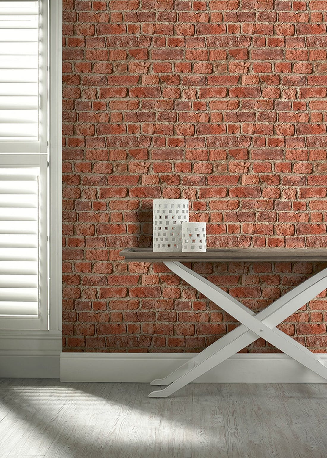Arthouse Urban Brick Wallpaper (10.05m x 53cm)