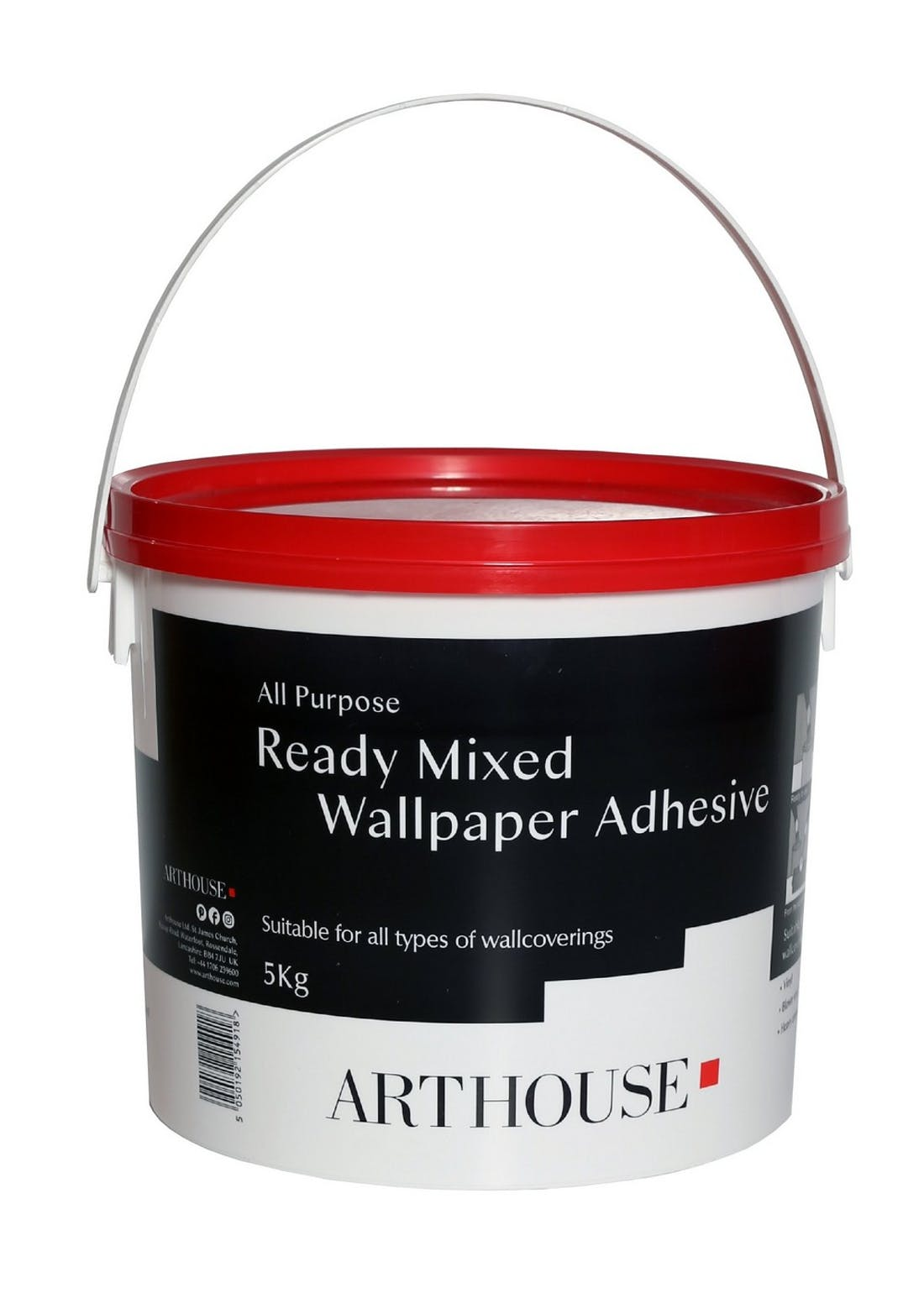 Arthouse Ready Mixed Wallpaper Paste (5KG)