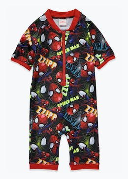 Kids Marvel Spider-Man Surf Suit (12mths-5yrs)
