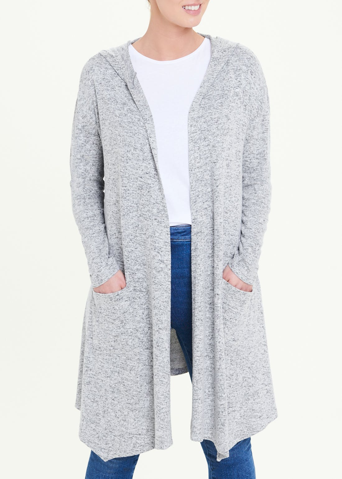 Soft Touch Hooded Cardigan