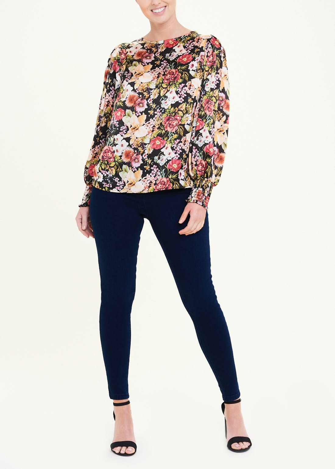 Soon Puff Sleeve Floral Blouse