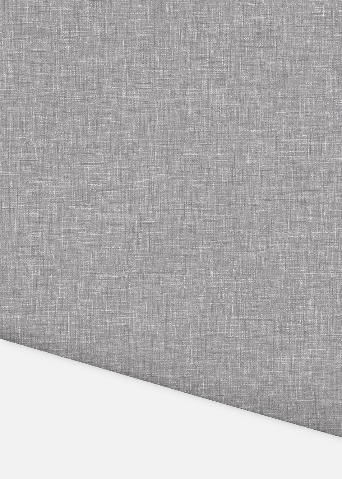 Arthouse Linen Texture Grey Wallpaper (10.05m x 53cm)
