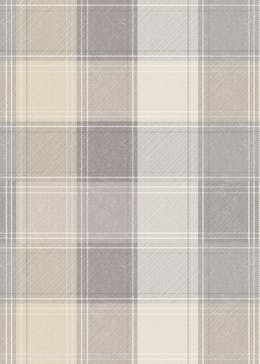Arthouse Check Grey Wallpaper (10.05m x 53cm)