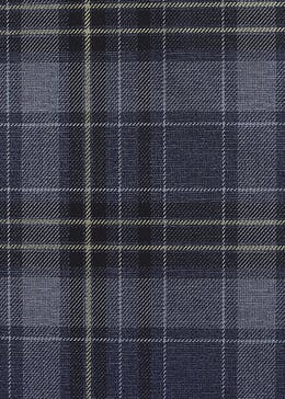Arthouse Twilled Plaid Navy & Gold Wallpaper (10.05m x 53cm)