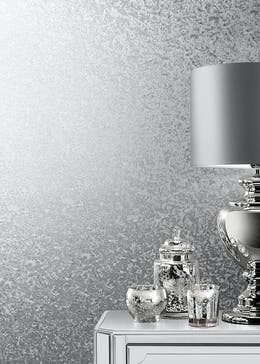 Muriva Couture Silver Crushed Velvet Foil Wallpaper (10.05m x 53cm)