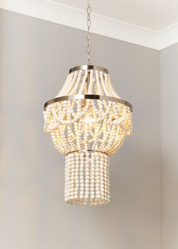 Large Beaded Chandelier (140cm x 40cm x40cm)