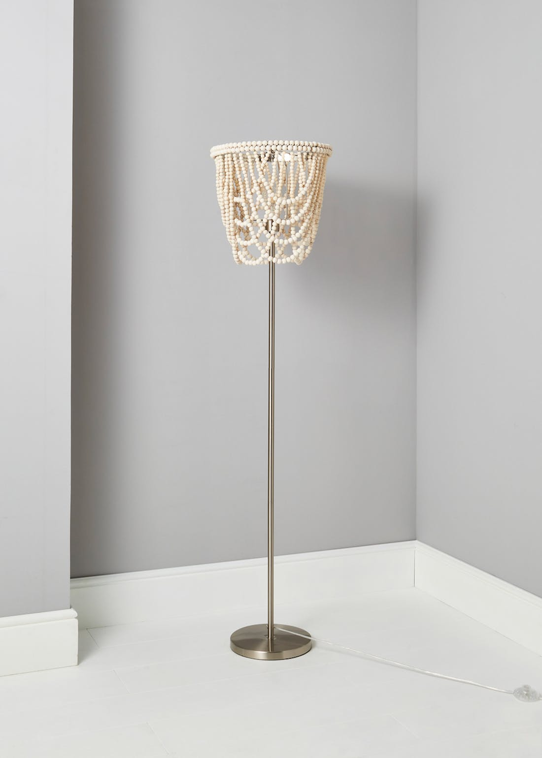 Beaded Floor Lamp (150cm x 38cm x 38cm)
