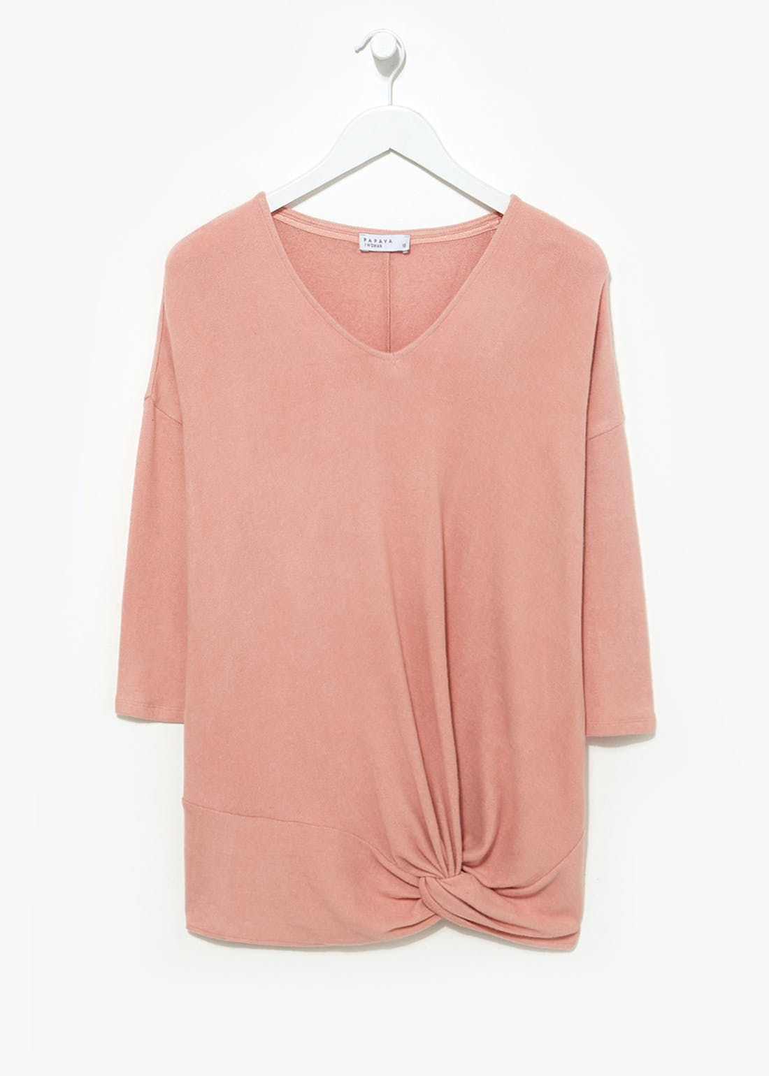 Soft Touch Twist Knot Top