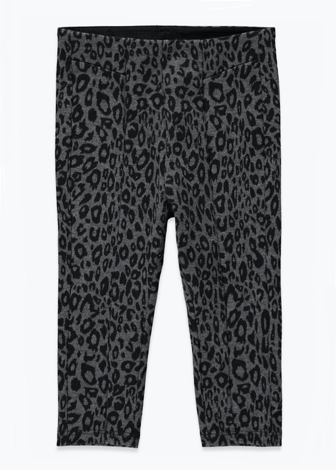 Girls Leopard Print Leggings (9mths-6yrs)