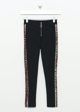 Girls Candy Couture Leopard Print Leggings (9-16yrs)