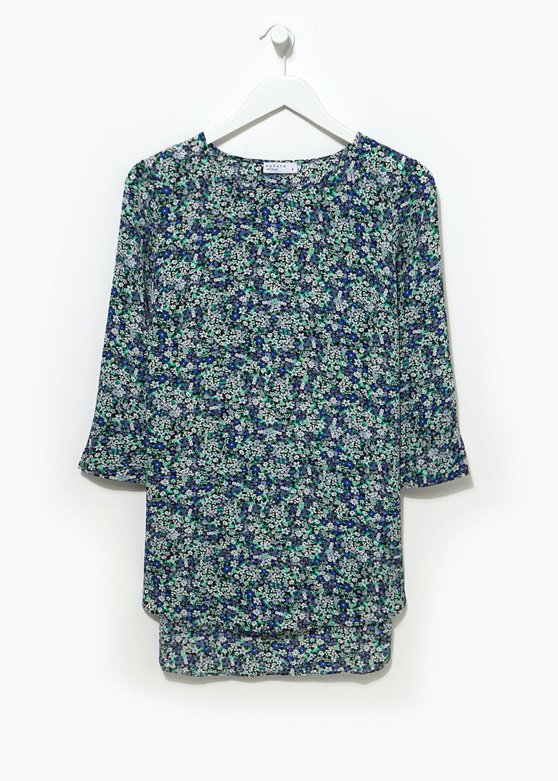 Ditsy Floral Longline Box Top