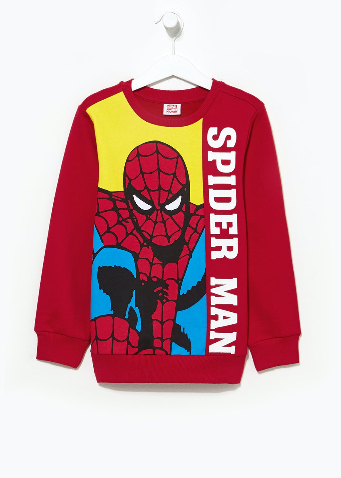 Kids Marvel Spider-Man Sweatshirt (2-7yrs)