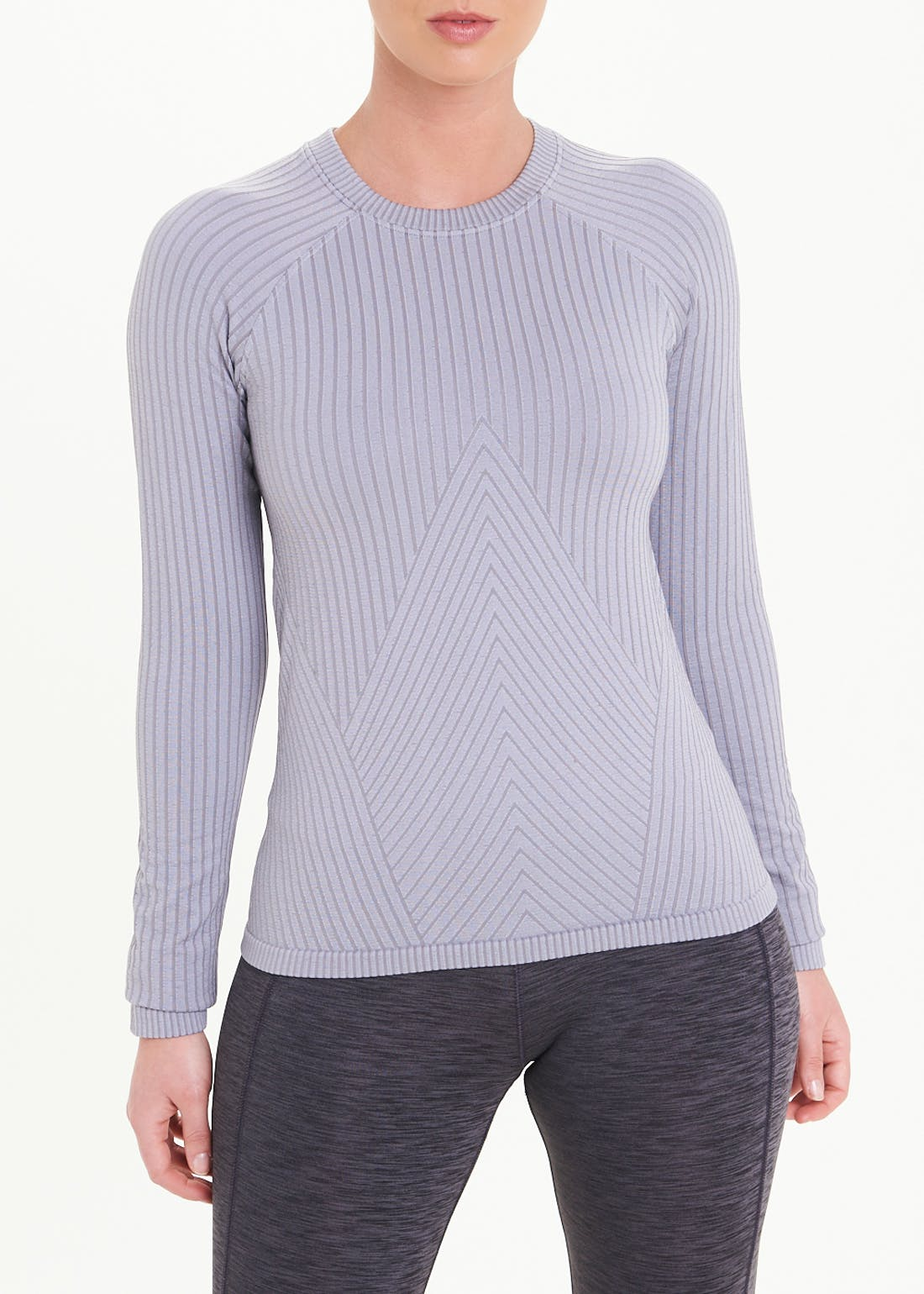 Souluxe Long Sleeve Seamless Gym T-Shirt
