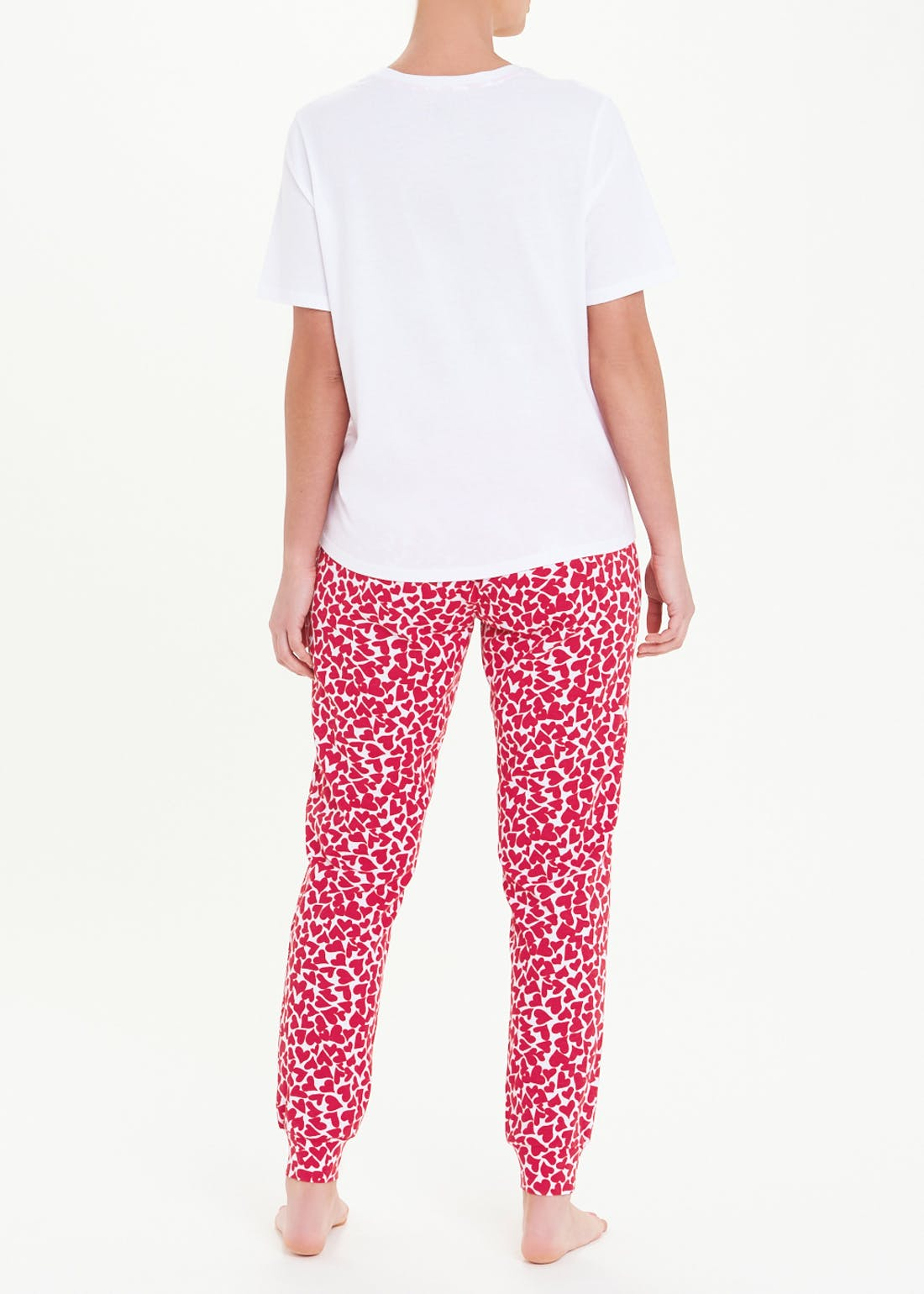 Love More Heart Pyjama Set