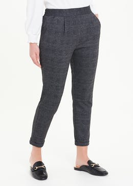 Textured Tapered Leggings