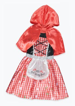 Kids Little Red Riding Hood Fancy Dress Costume (3-9yrs)