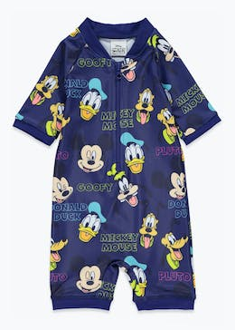 Kids Disney Mickey Mouse Surf Suit (3mths-4yrs)