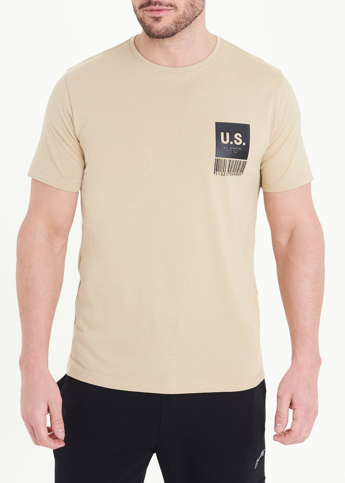 US Athletic Barcode T-Shirt