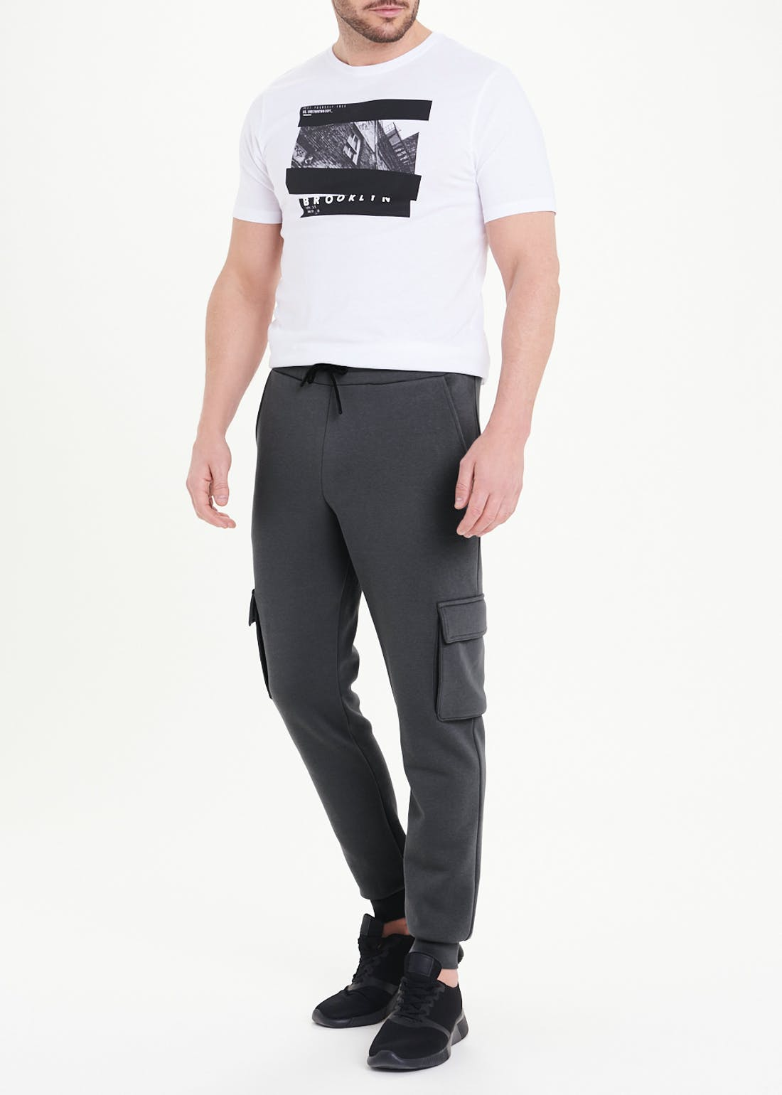 US Athletic Cuffed Cargo Joggers