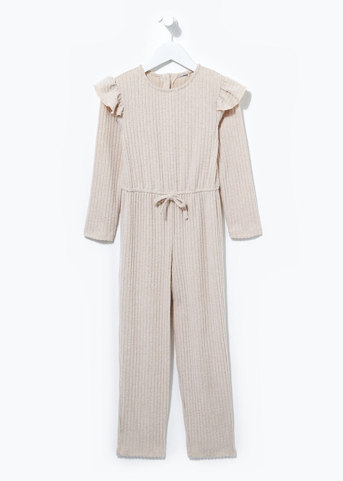 Girls Frill Shoulder Jumpsuit (4-13yrs)