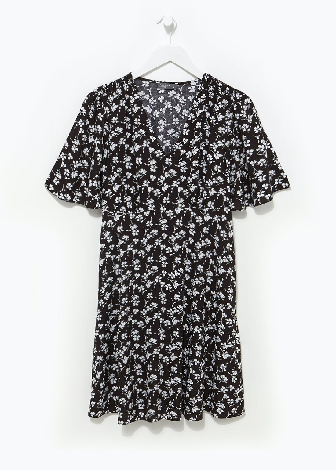 Ditsy Floral Mini Tea Dress
