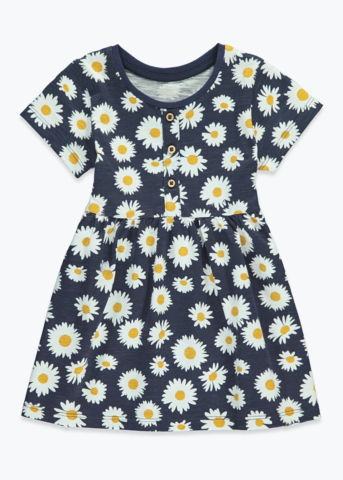 Girls Daisy Print Dress (9mths-6yrs)