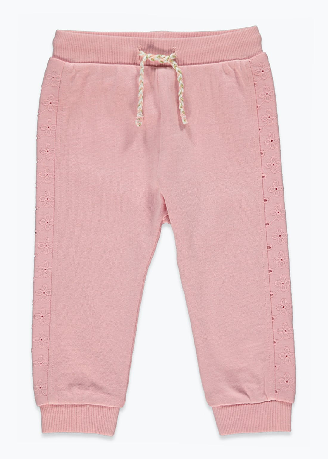 Girls Broderie Joggers (9mths-6yrs)