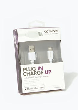 Activate Plug In Charge Up iPhone Cable (1m)