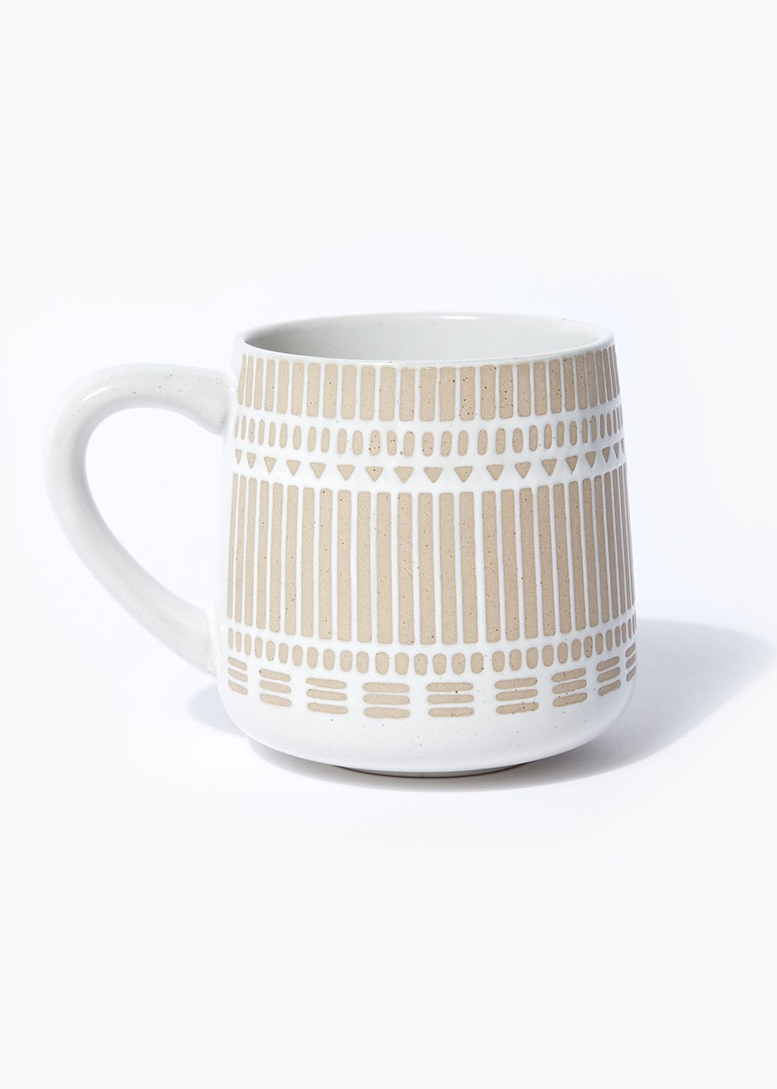 Embossed Stripe Mug