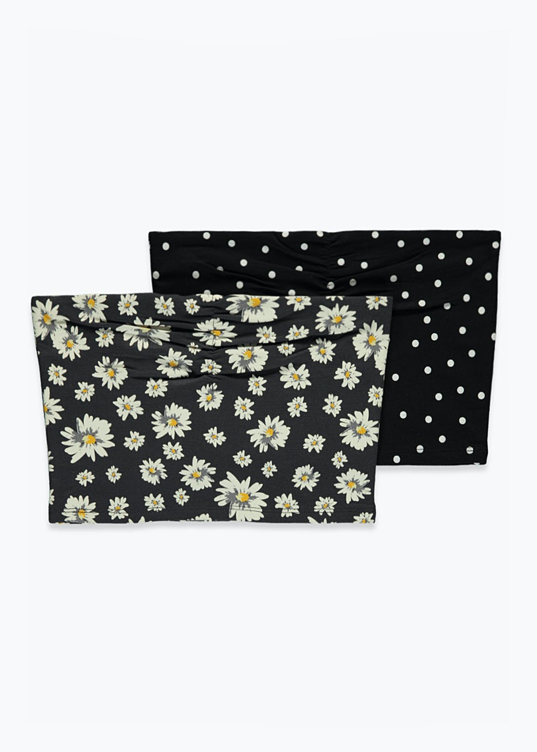 Girls Candy Couture 2 Pack Bandeau Top (9-16yrs)