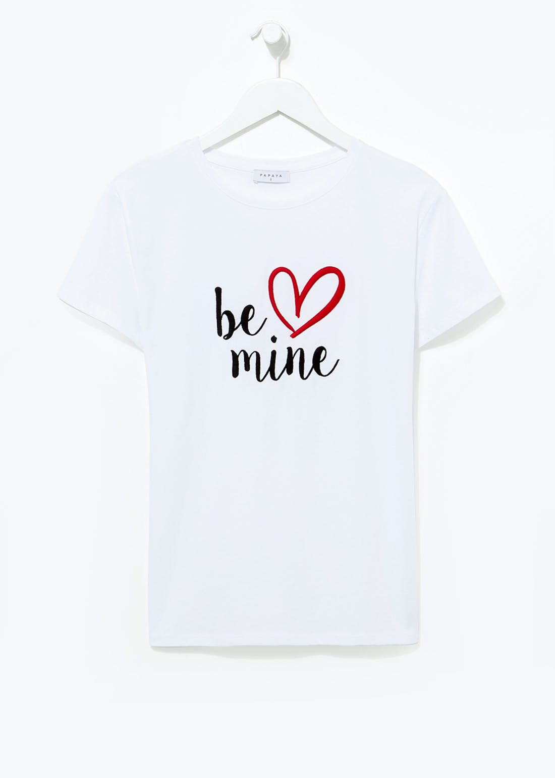 Be Mine Slogan T-Shirt