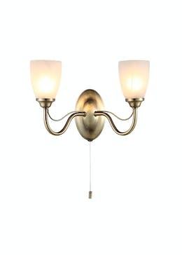 Inlight Prado 2 Light Wall Light (35cm x 40cm x 40cm)