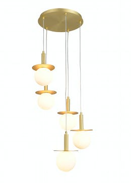 Inlight Stella Cluster Flush Ceiling Light (145cm x 38cm x 38cm)
