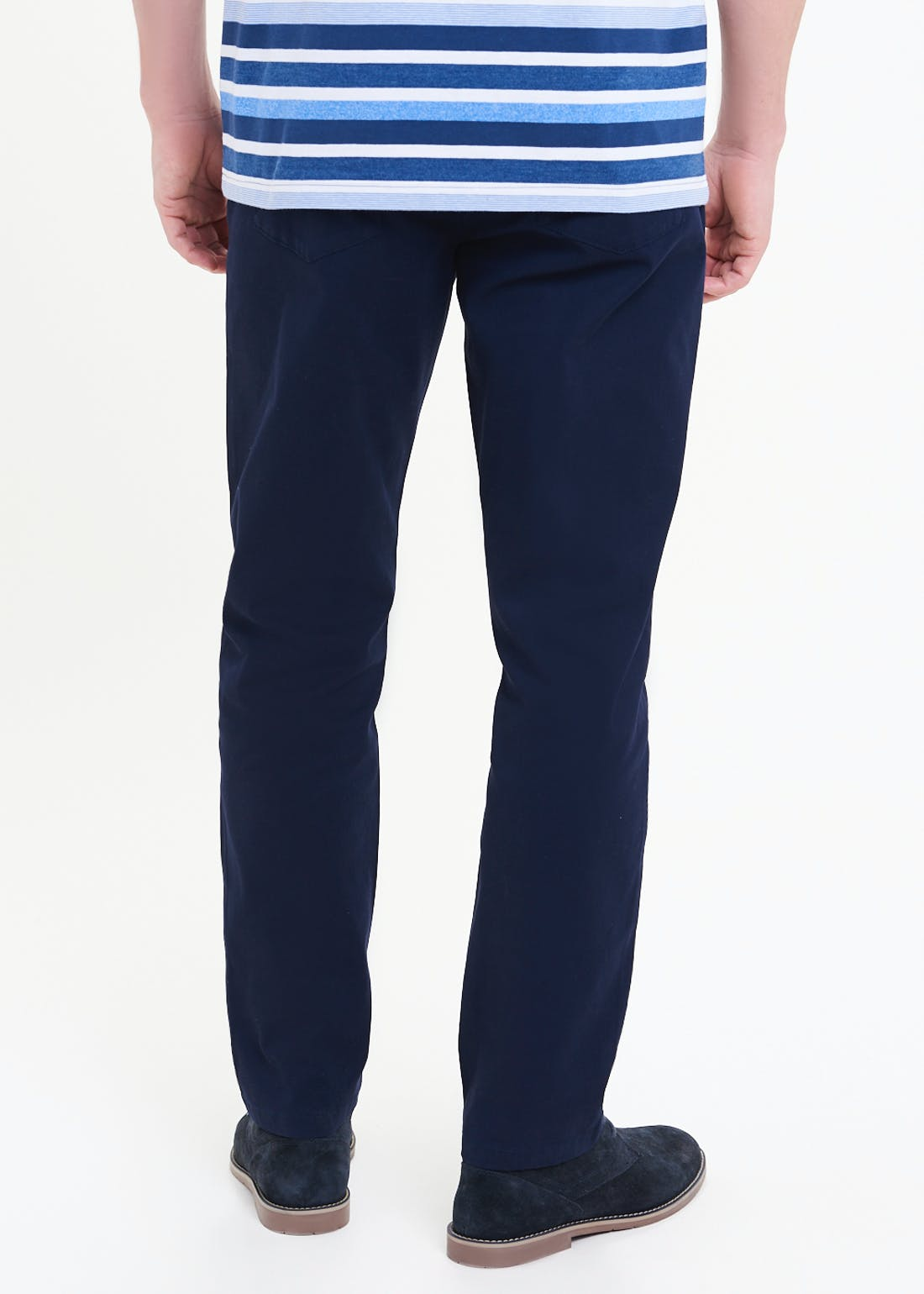 Lincoln Straight Fit Bedford Cord Trousers