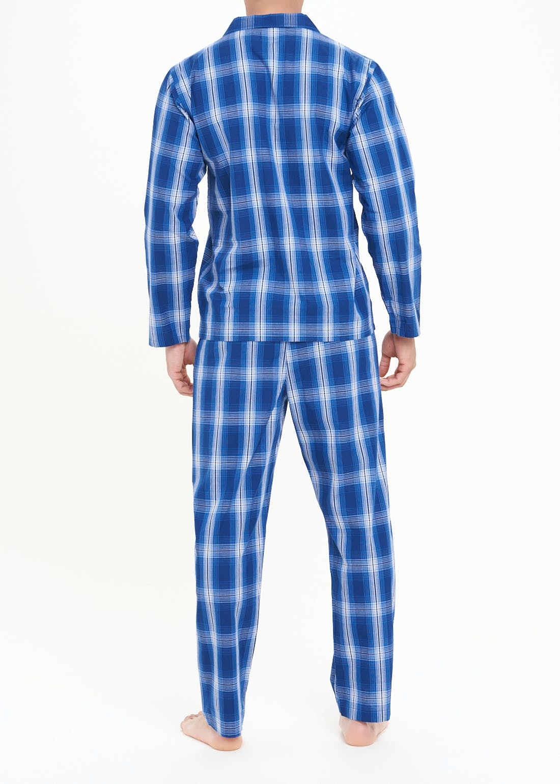 Woven Cotton Check Pyjama Set