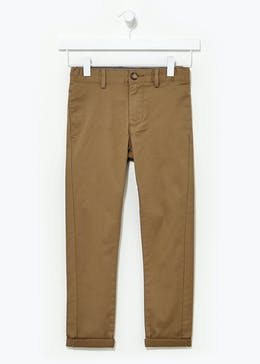 Boys Stretch Chinos (4-13yrs)