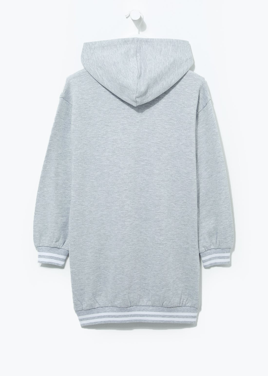 Girls Candy Couture Longline Hoodie (9-16yrs)