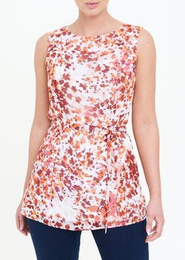 Soon Floral Sleeveless Blouse