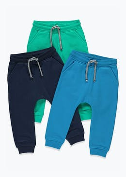 Boys 3 Pack Joggers (9mths-6yrs)