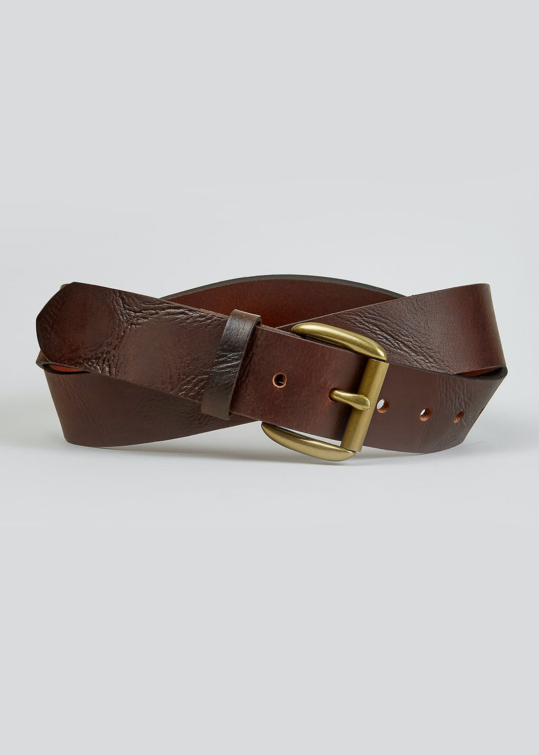 Brown Real Leather Belt (40mm)