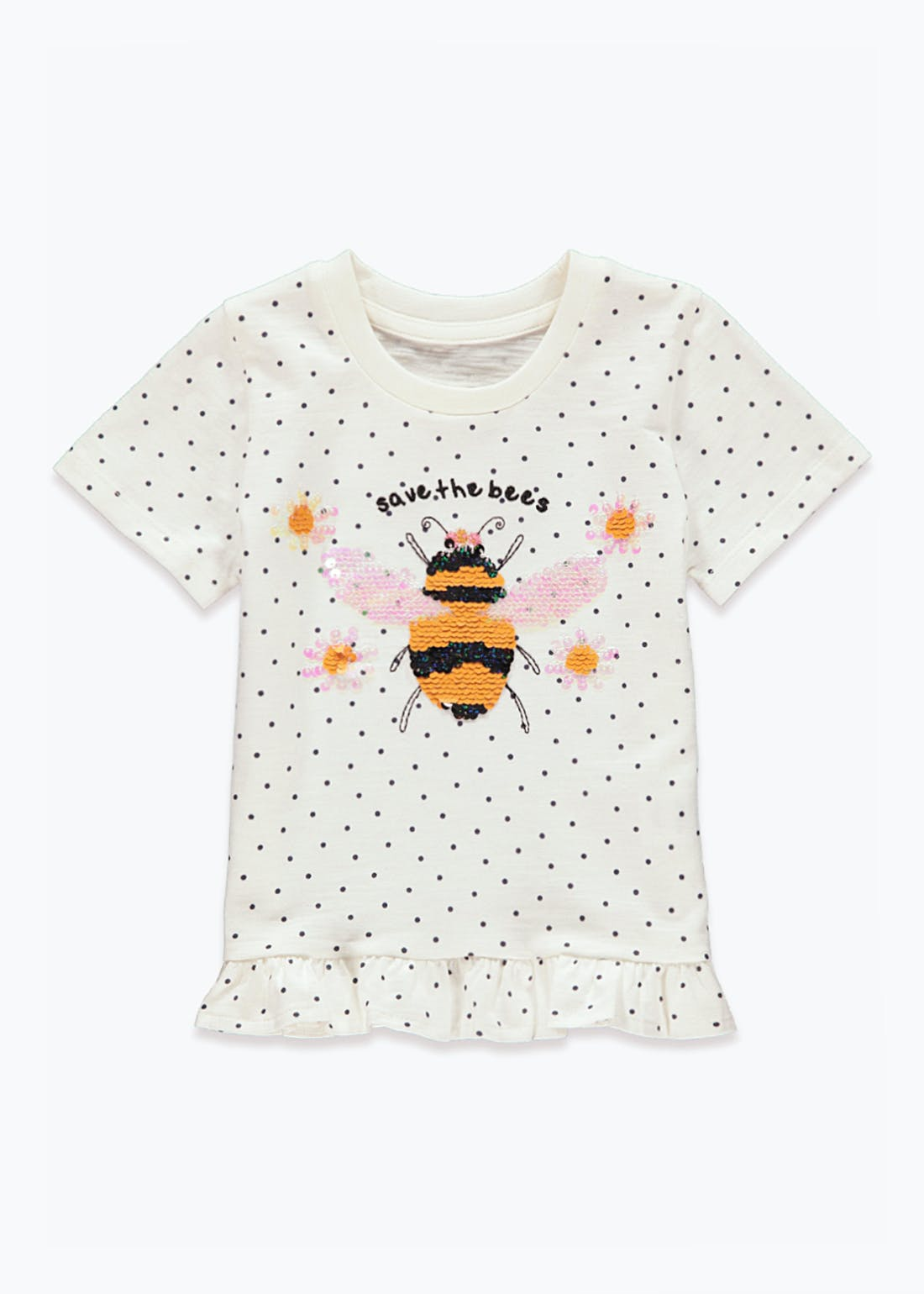 Girls Save the Bees T-Shirt (9mths-6yrs)