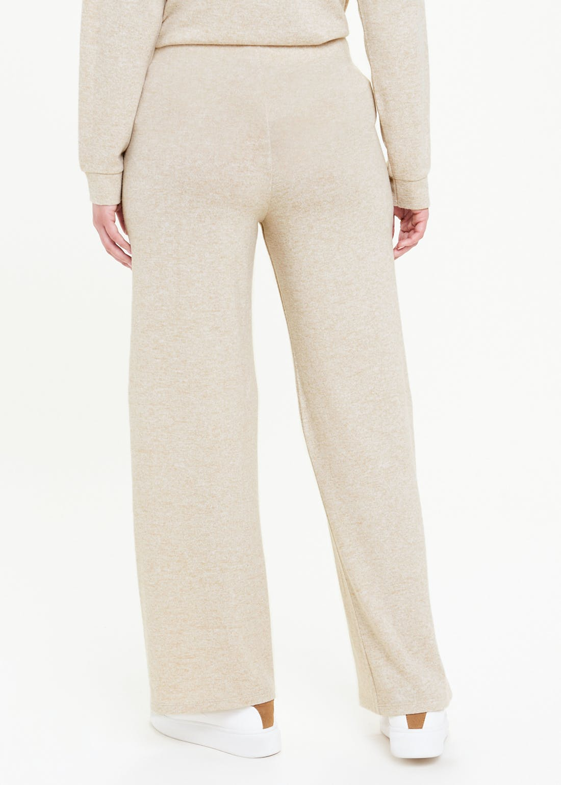 Soft Touch Wide Leg Trousers